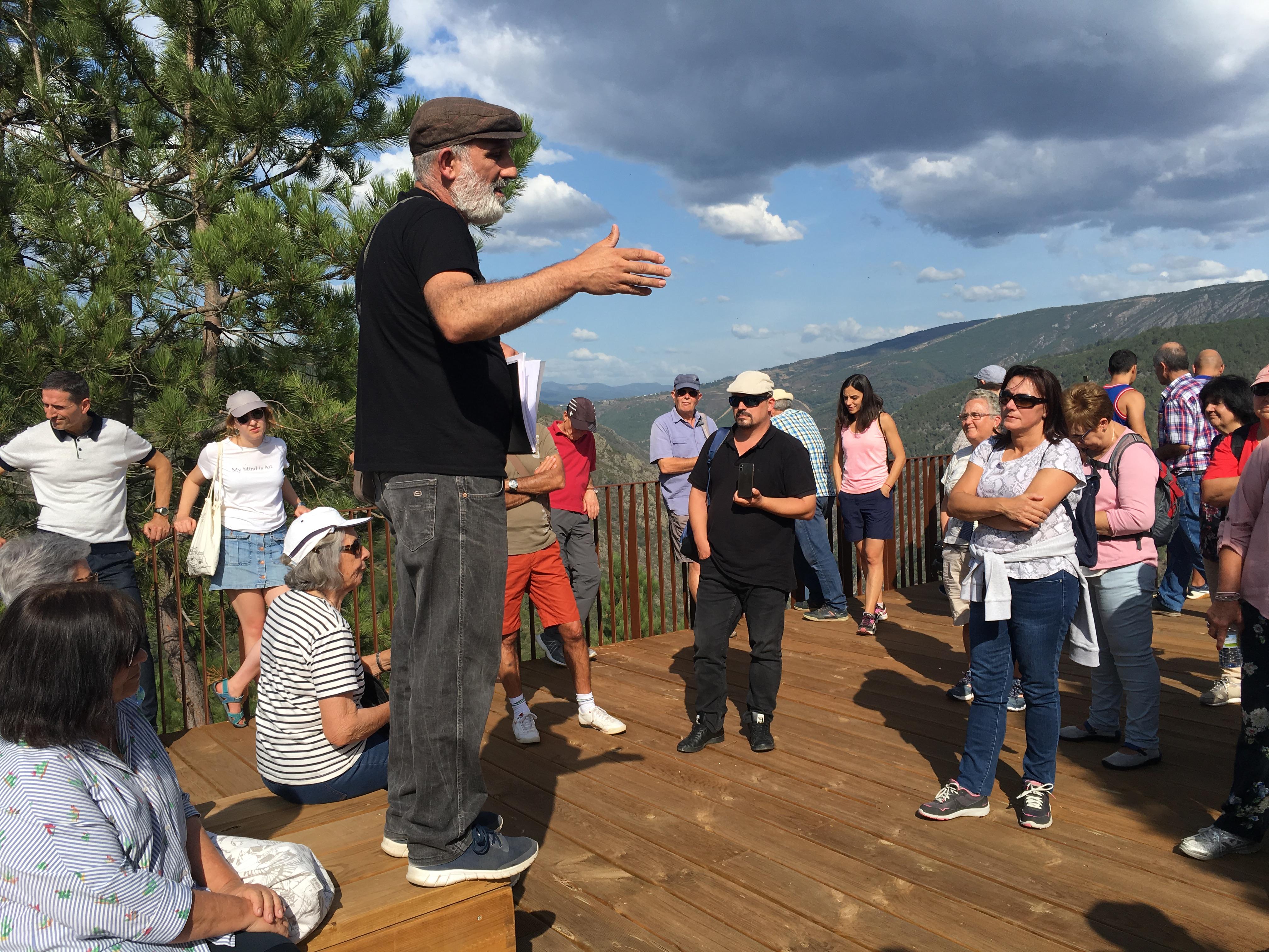 Tercera conferencia en el Mirador do Duque con Alfonso Campos