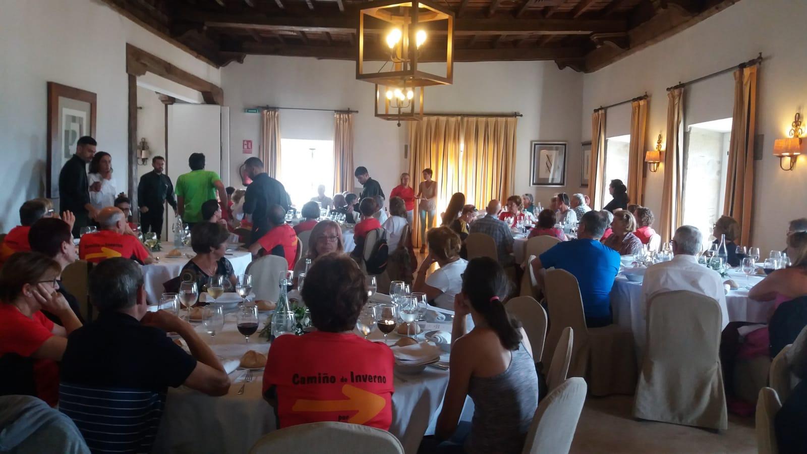 Clausura en el Parador de Monforte con Nava Castro, Dra. Axencia de Turismo de la Xunta de Galicia d