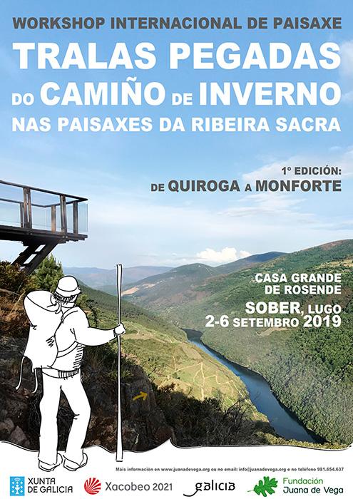 La Escuela gallega de Paisaje pone en marcha un Workshop sobre el Camino de Invierno en la primera semana de septiembre