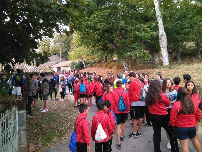 La Asociación del Camino de Invierno por Ribeira Sacra presentaba hoy la III Andaina Escolar polo Camiño de Inverno