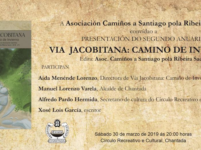 Presentación en Chantada del II Anuario: Vía Jacobitana. Camino de Invierno