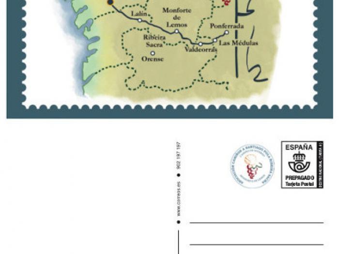 Postal prefranqueada - Fecha de emisión: 10-12-2016
