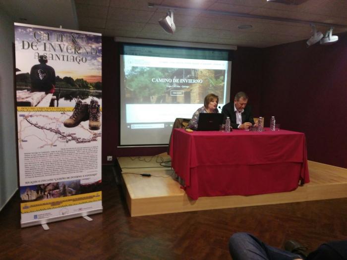 La nueva web del Camino de Invierno: www.caminodeinvierno.com, editada por la Asociación del Camino de Invierno por Ribeira Sacra se presentaba hoy en Monforte de Lemos