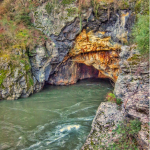 Túnel de Montefurado. Río Sil